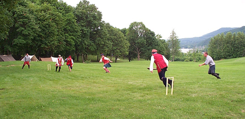 18th Century Cricket at Ticonderoga